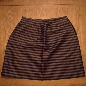 Madewell striped skirt